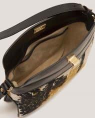 ARDORAGE-chloe-lady-bag-leather-black-and-vintage-fabric-lining-3