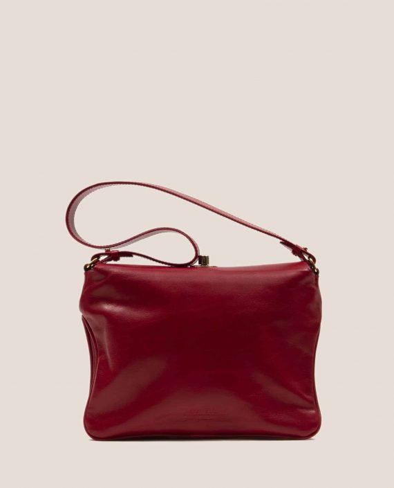 Red vegetable dyed leather back from lady bag Chloe Fireworks (ref # CRT-14-12) Petty Things