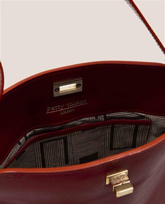 Lady Bag, Chloe red (ref #CPR-09) Petty Things inner