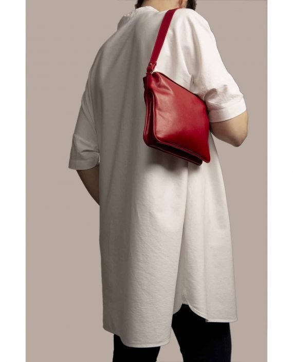 Bolso mano, Chloe Rojo (ref #CPR-09) Petty Things modelo