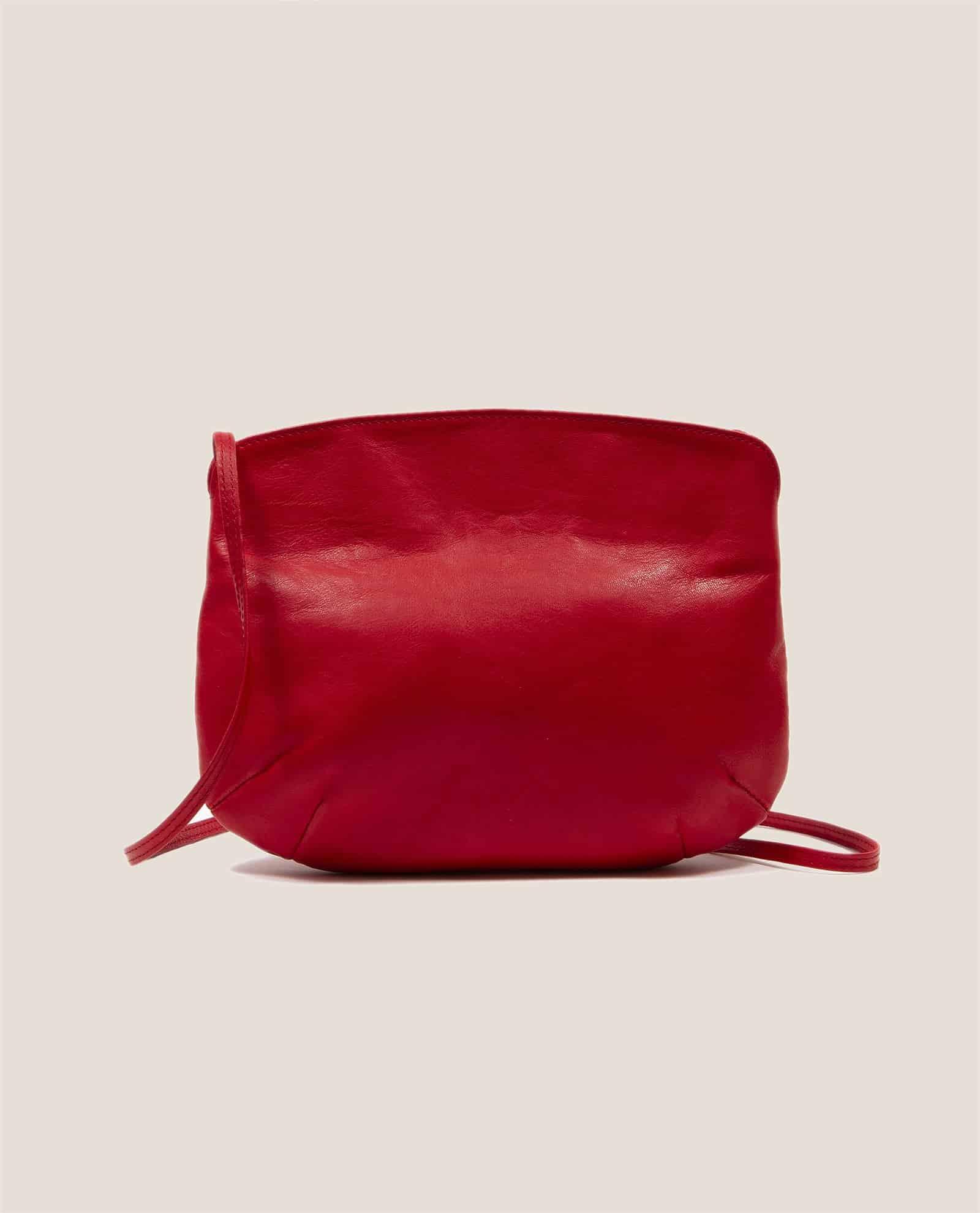 Cross Body Bag, Debbie Red (ref #DPR-30) Petty Things - back