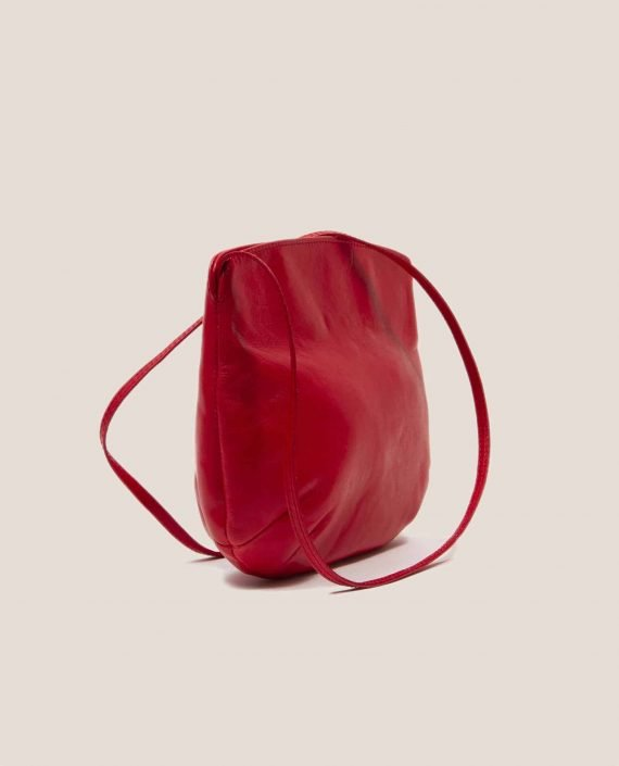 Cross Body Bag, Debbie Red (ref #DPR-30) Petty Things - side