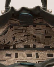 PIXIE-Nina-tote-bag-dark-green-leather-Petty-Things-detai-interior