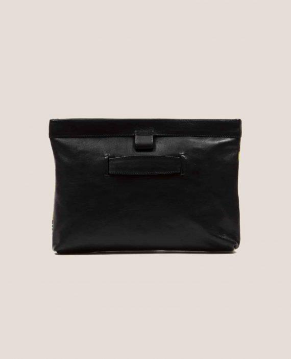 Parte atrás bolso en cuero negro Marlen Lane (ref # MTPN-20-34) de Petty Things