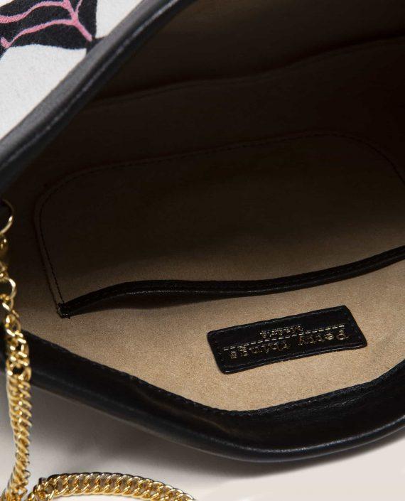 Clutch, handbag, Marlen Ula (ref #MTPN-7-24) Petty Things - detail interior