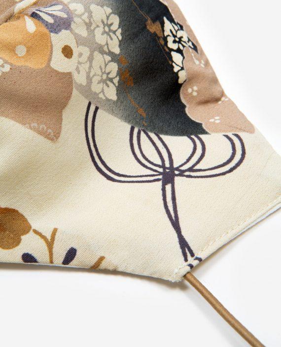 Detalle Mascarilla de tela homologada con bolsillo NORIKO - Petty Things