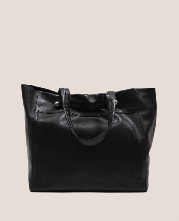 Parte atrás bolso en cuero tinte vegetal, Nina Ula (ref # NTN-07-03) de Petty Things